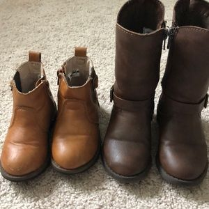 2 Pair of Boots Size 6